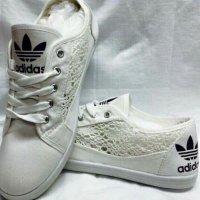 new ladies lace adidas pumps size 3-8