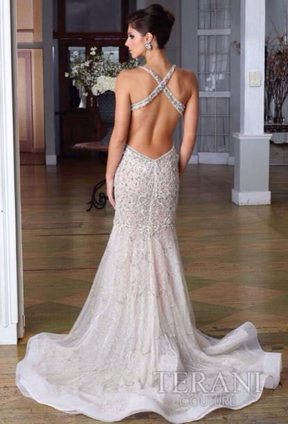 Dress Amazing Prom Dress Silver Prom Dress Sequins