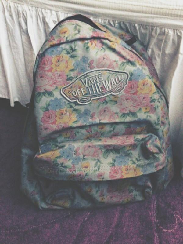 Floral Realm Backpack  Shop Womens Backpacks at Vans