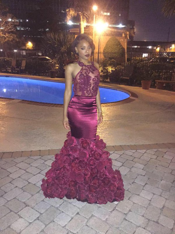 Aliexpresscom  Buy Sexy Satin 2K15 Black Girl Prom