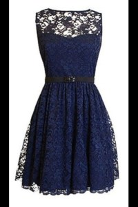 Short Lace Navy Blue Bridesmaid Dresses | www.imgarcade ...