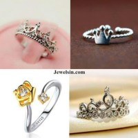 Jewels: ring, crown, crown rings, fashion rings, promise ...