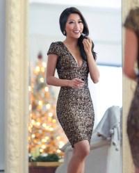 dress, tumblr, holiday season, holiday dress, christmas, v ...