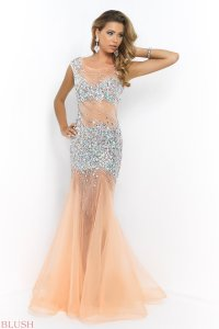 Blush Prom Dresses and Evening Gowns Blush 2015 Style 9918