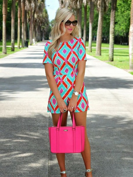 Image result for preppy bright looks