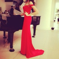 dress red dress prom dress maxi dress hipster beatiful red ...