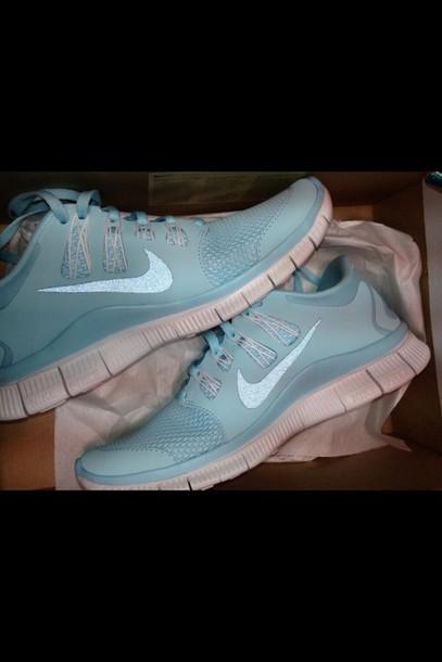 Nike Light Blue Shoes