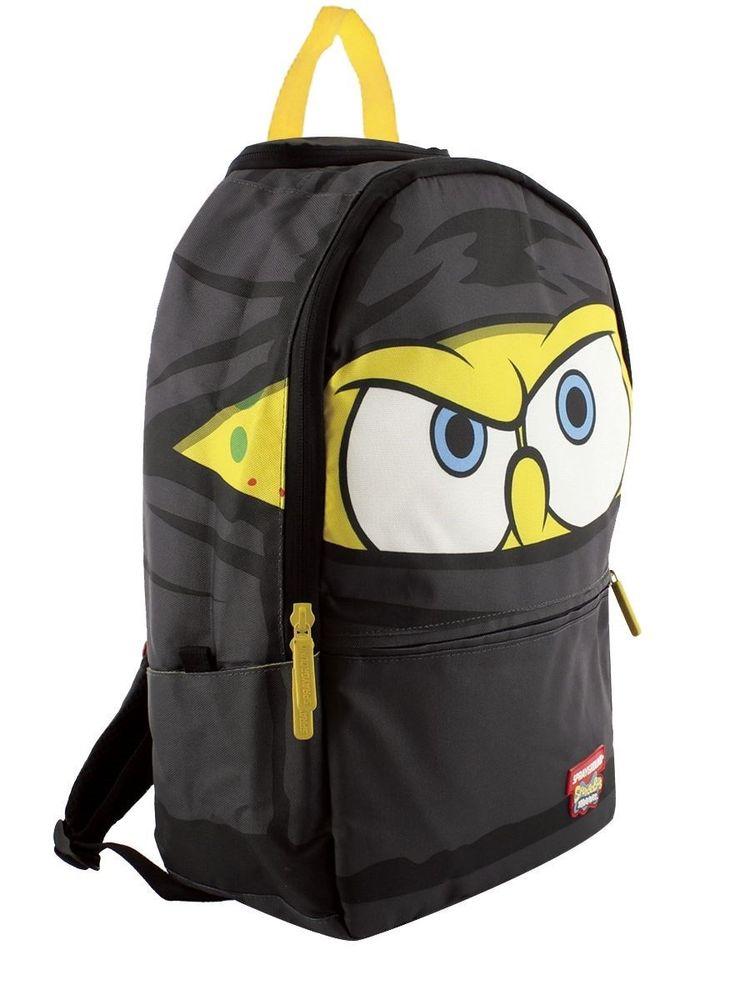 kitchen shoes womens corner shelving unit sprayground spongebob ninja pants backpack - new & official