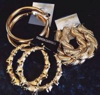 jewels, earrings, fashion earrings, gold, ring, r&b style ...