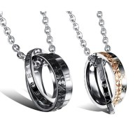 Engraved Forever Love Matching Jewelry Set for Him and Her ...