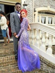 dress prom purple