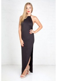 Extreme T-Bar Gown - Black - Zachary