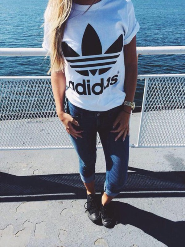 Dessin Fille Swag Adidas 1