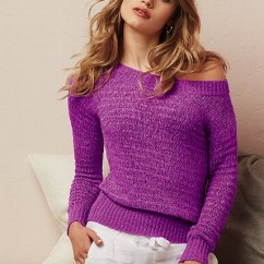 Kitchen Shoes Womens Cotton Yarn Boatneck Sweater - Victoria's Secret