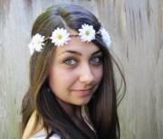 hair accessory wedding hippie