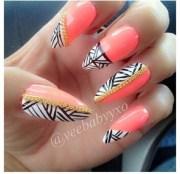 nail polish orange