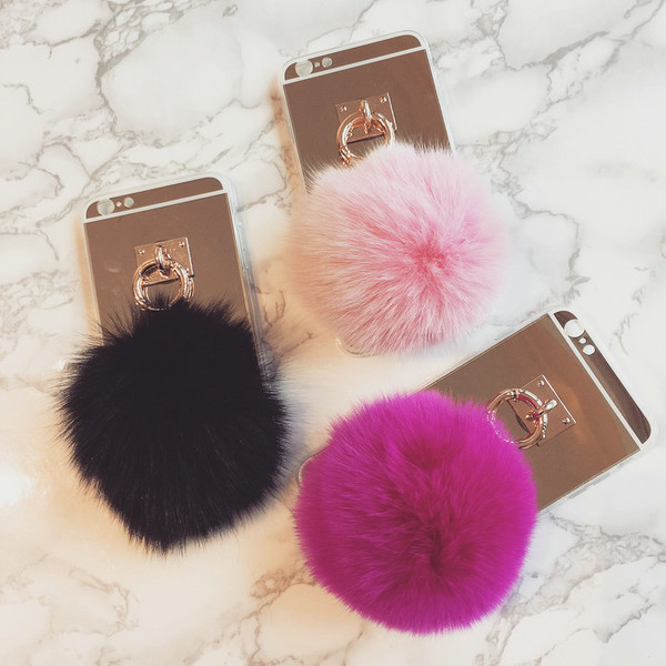 Image result for fur ball phone case