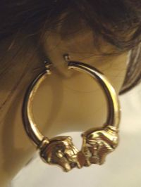 The gallery for --> Ghetto Hoop Earrings Name