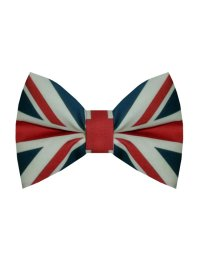 Union Jack Bow Tie by birties on Etsy