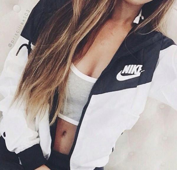 Jacket nike nike air streetwear sportswear sports bra