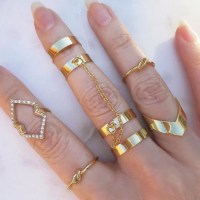 jewels, jewel cult, jewelry, gold, knuckle ring, ring ...