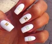 nail polish chanel art