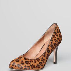 Leopard High Heel Chair Wedding Chairs Hire London Corso Como Pumps Del A Calf Hair