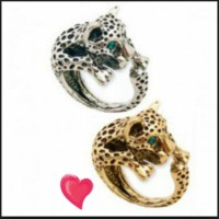 Jewels: jewelry, cheetah, leopard, animal, zad, women ring ...