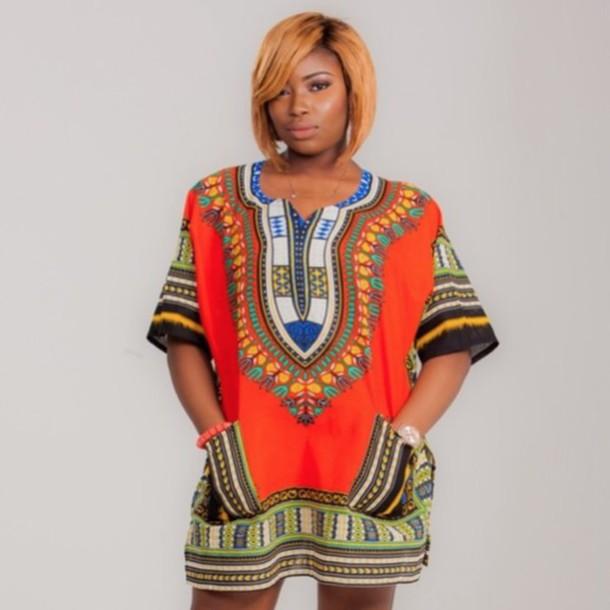 new african dashiki shirt