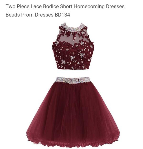 dress homecoming dress burgundy dress short homecoming
