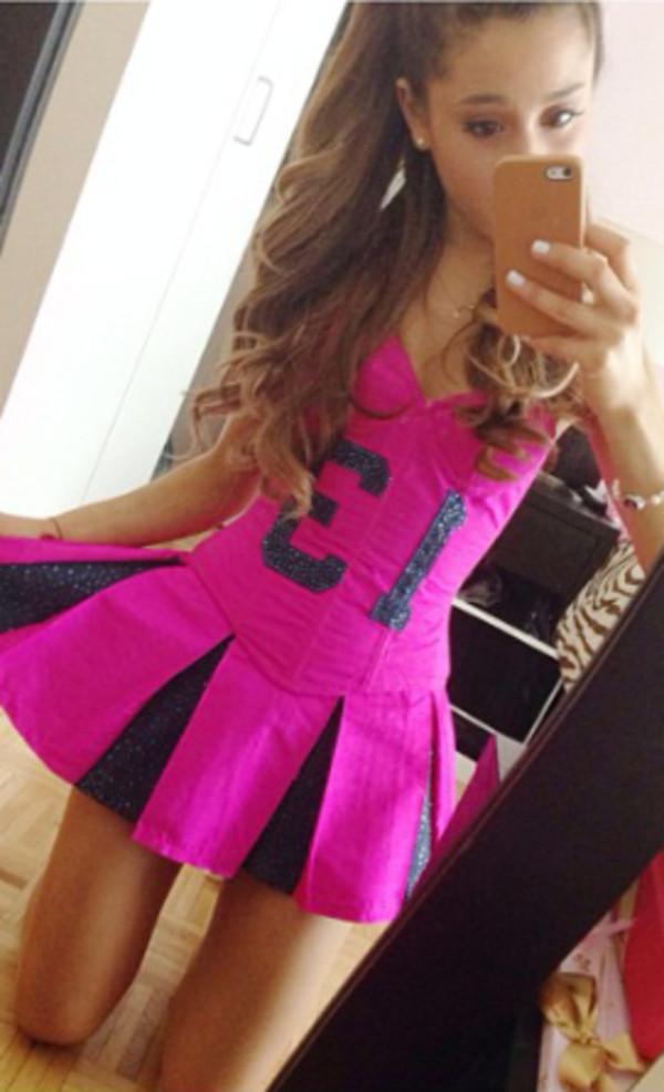 Dress pink ariana grande grande ariana grande  Wheretoget