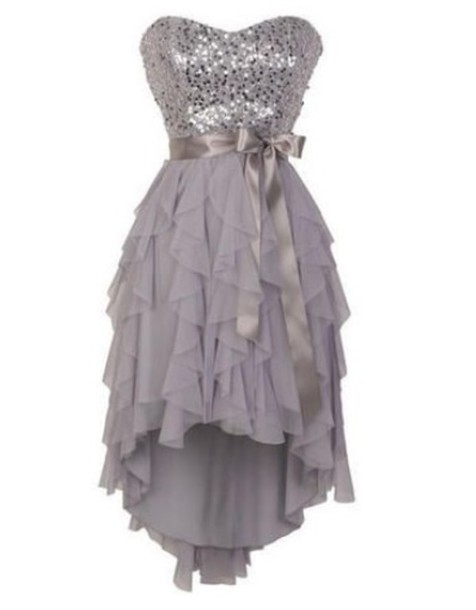 dress delias highlow dresses spiral grey glitter