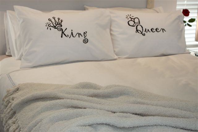 pillow case matching pillow cases couples pillow cases printed pillow cases king and queen pillowcase set