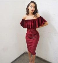dress, velvet, tumblr, red, red dress, short dress, party ...