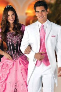 dress, tuxedo, prom dress, grey, white, pink, quinceaera ...