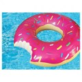Inflatable floats gigantic donut pool float