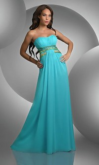 Loose Fitting Long Dresses, Shimmer Prom Gowns - Simply ...