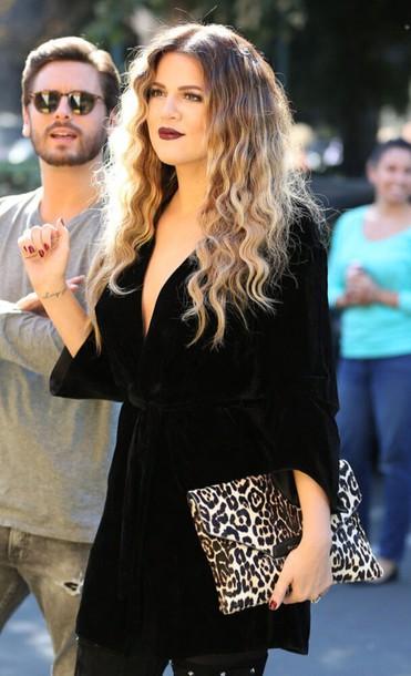 Bag Black Dress Black Top Top Clutch Leopard Print