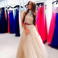 Cheap 2015 Prom Dresses - Discount Orange Chiffon Two ...