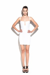 White Stadium Bustier Dress : Buy Designer Dresses Online