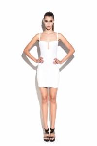 White Stadium Bustier Dress : Buy Designer Dresses Online