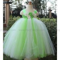 lime green flower girl dress dress lime green