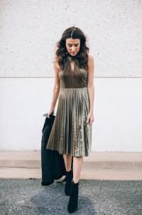 Dress: tumblr, midi dress, green dress, velvet, velvet ...