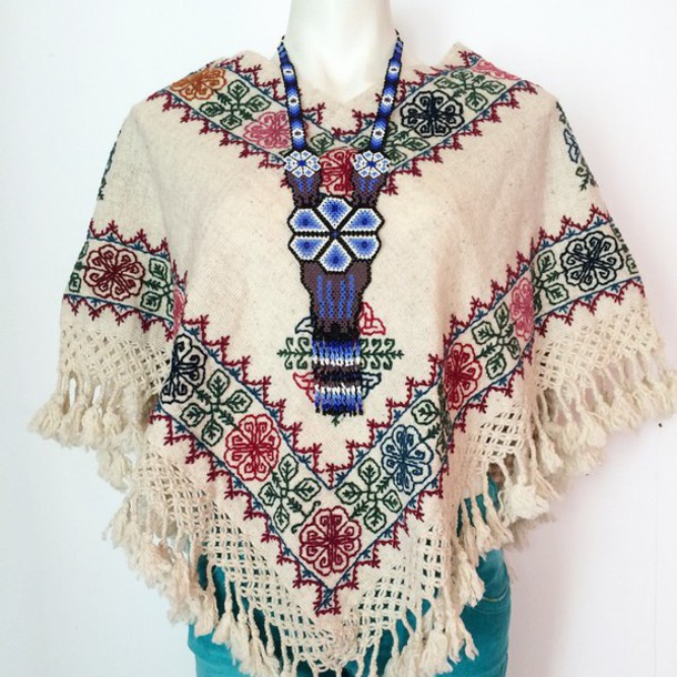 scarf dress mexican aztec mexican style mexican art mexican serape blouse mexico