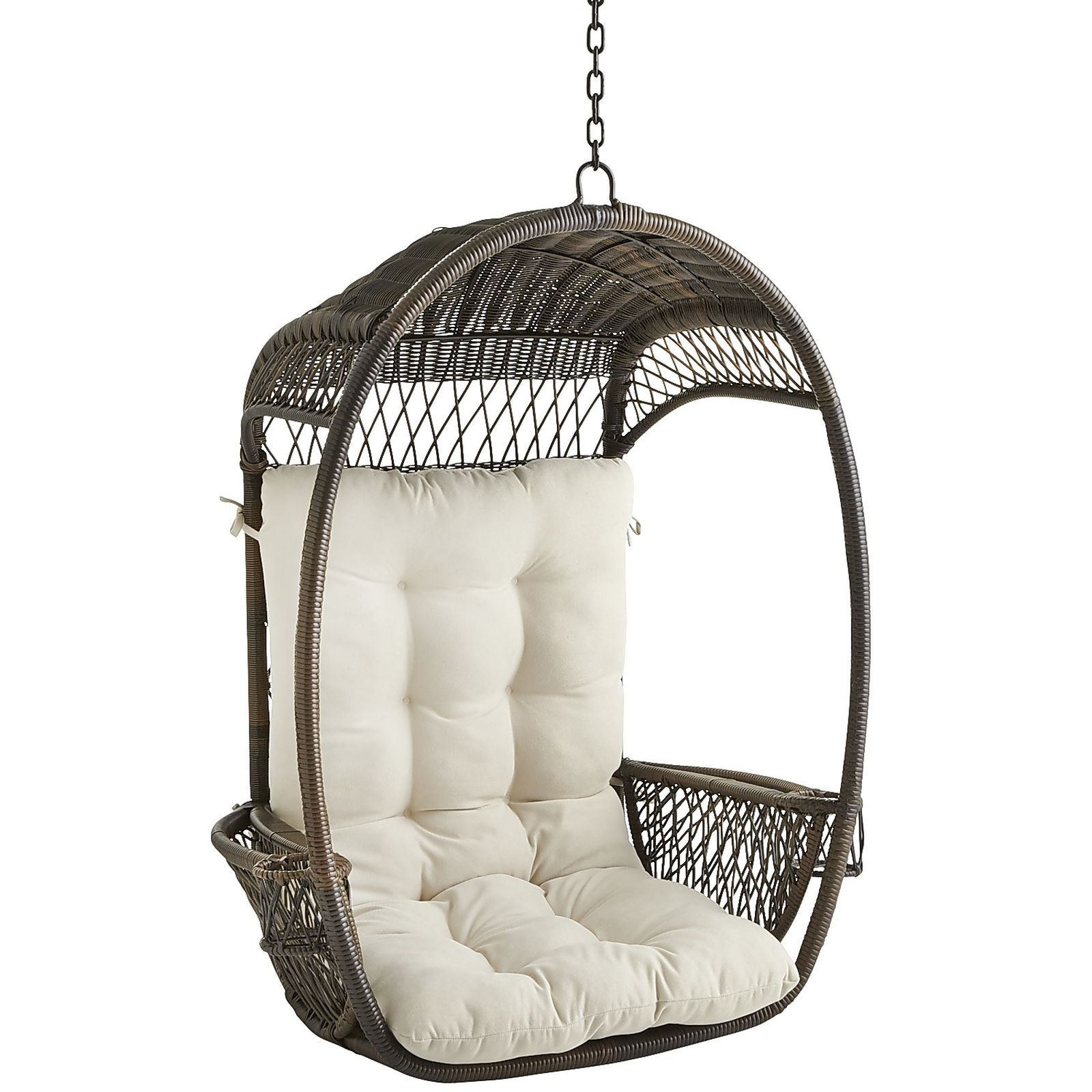 Pier 1 Swing Chair Swingasan Cushion Calliope Ivory