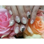 nail accessories glitter french