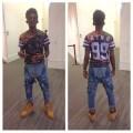 Jumpsuit shirt jumper jeans king dope timberlands timerlands