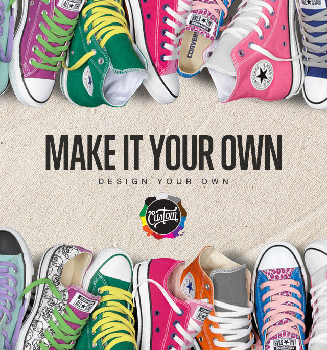 Conversecom  Chuck Taylor Sneakers  Design Your Own