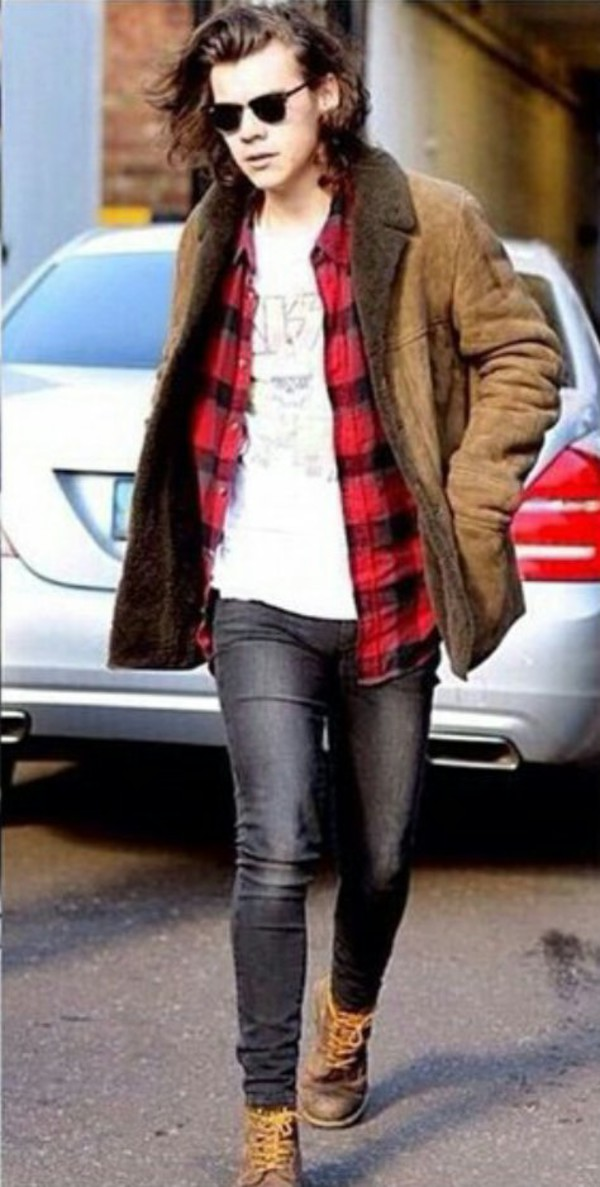 Shoes harry styles boots with laces distressed boots