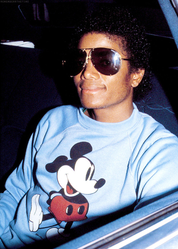 Sweater michael jackson mickey mouse mickey mouse